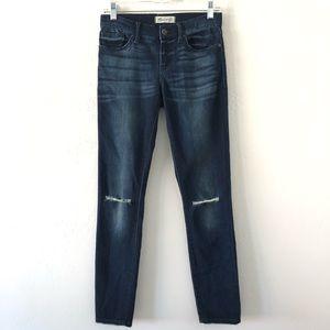 Madewell Dark Stretch Skinny Jeans Size 25